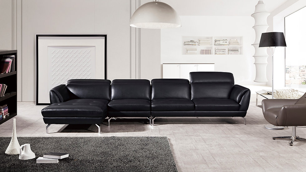 Rivoli VI Leather Sectional