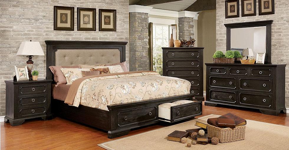 Rosalyn King Bedroom Set
