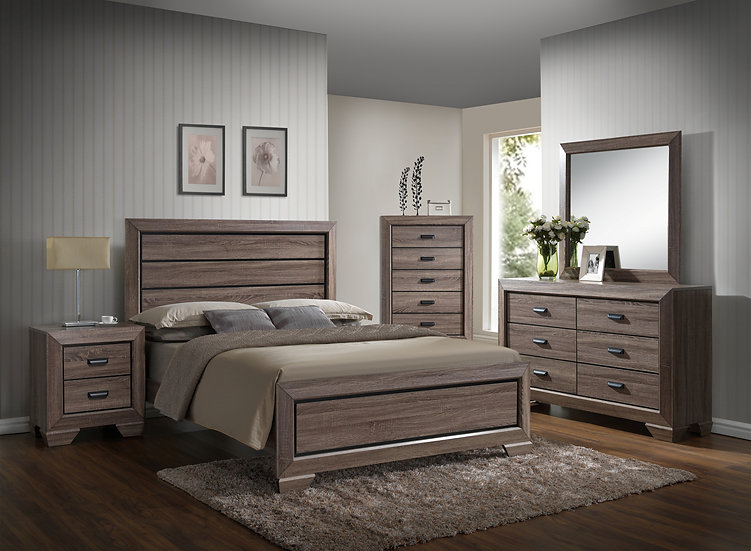 Montana Ash King Bedroom Set