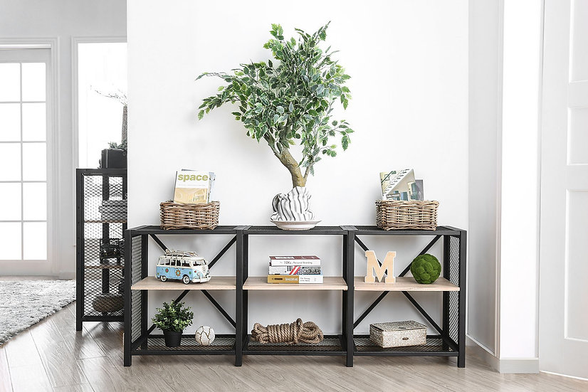Elevated 2-Tier Shelf