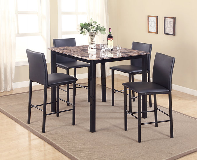 Roma Plaza 5pc  Dining Set