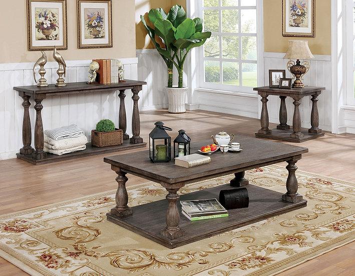 Vermont Gray Table Set