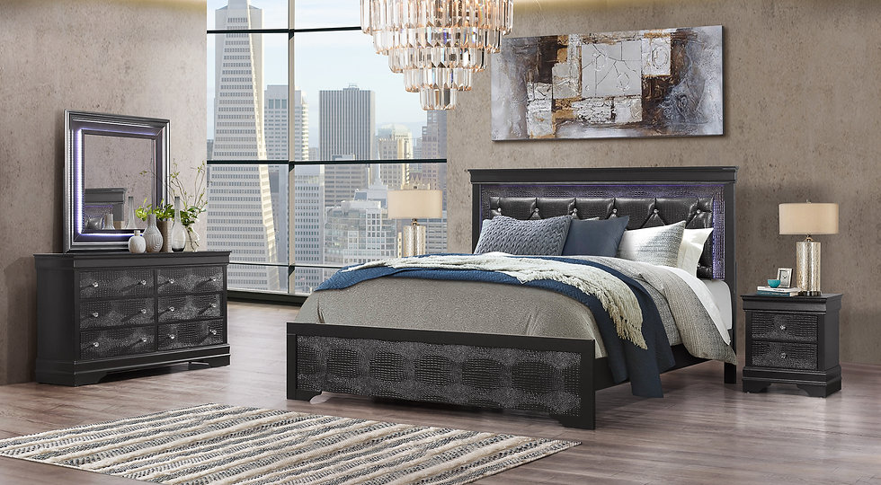 Diamond Coral Bedroom Collection