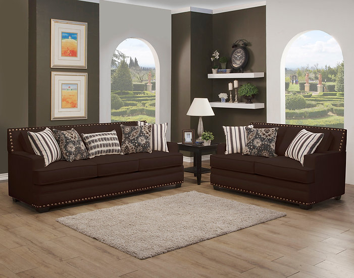 Dona II Fabric Sofa Set