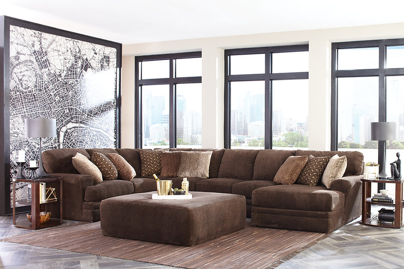 Mocha Mammoth Sectional