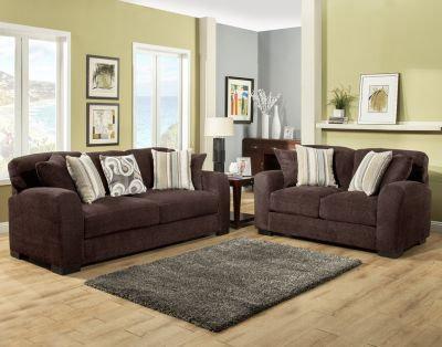 Westland III Fabric Sofa Set