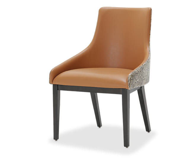 Side Chair Diablo Orange/Umber