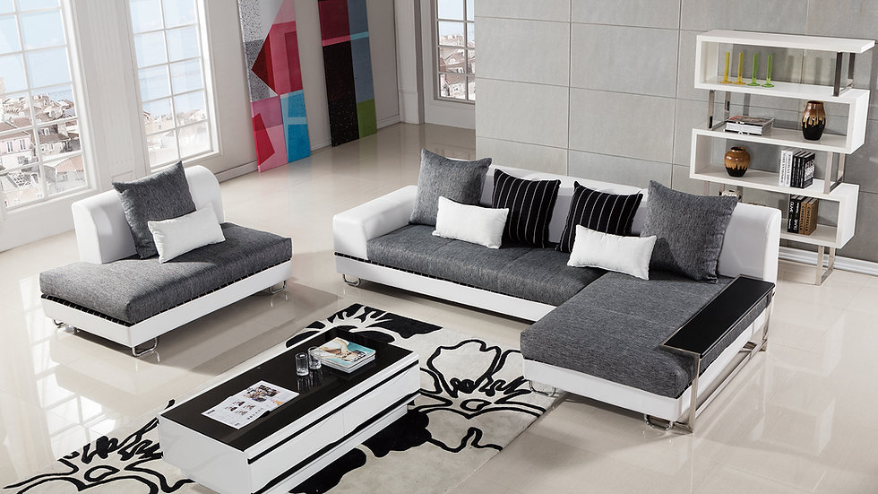Monroe Sectional w/side table