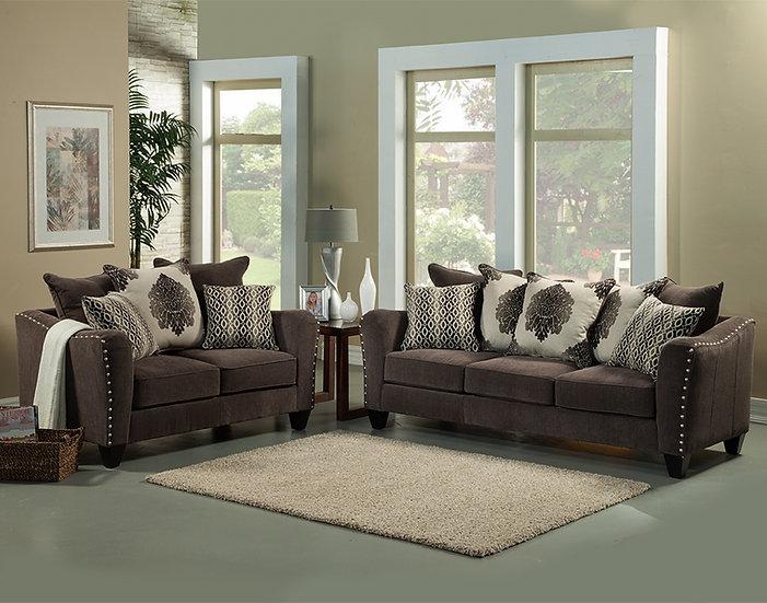 Bohiem Fabric Sofa Set
