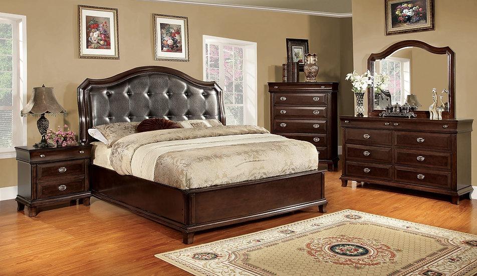 Harden Padded King Bedroom Set