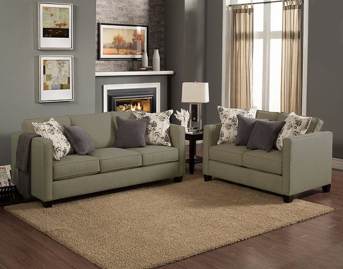 Arbol Fabric Sofa Set