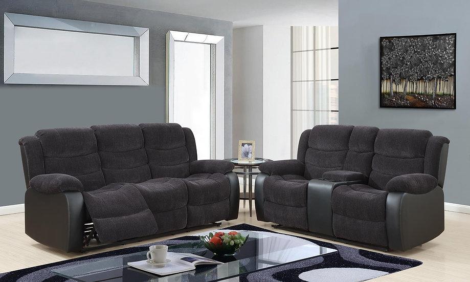Cadia Reclining Sofa Set