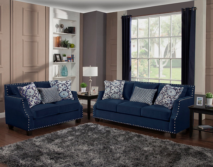 Othello I Fabric Sofa Set