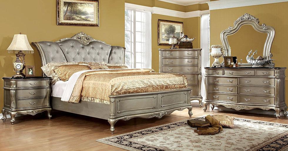Versailles King Bedroom Set