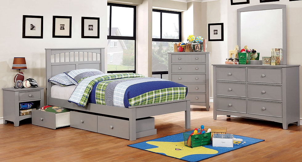 Carlsdale 2-Pc Kids Bedroom set