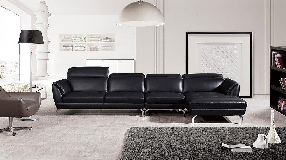 Rivoli I Leather Sectional