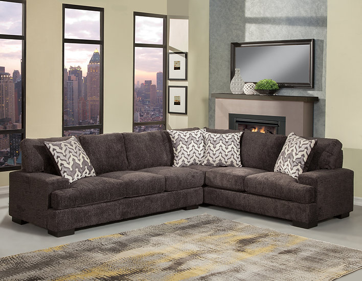 Sienna Dark Sectional