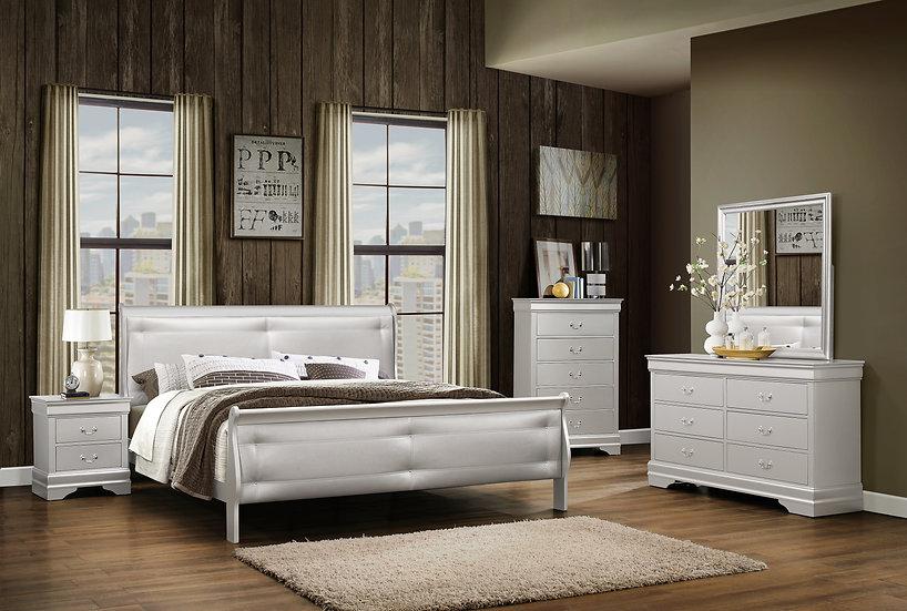 Plata Fina King Bedroom Set