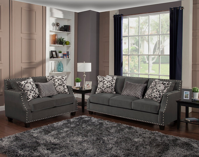 Othello II Fabric Sofa Set