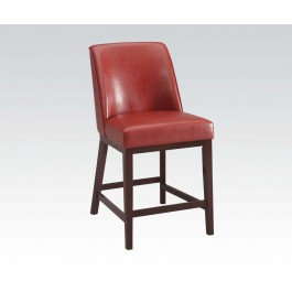 Red Counter Height Chair