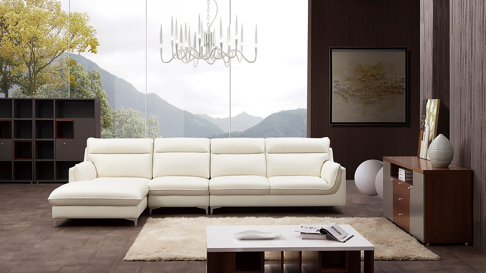 Penny Blvd II Leather Sectional