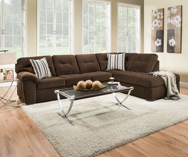 Cocoa Shell Sectional
