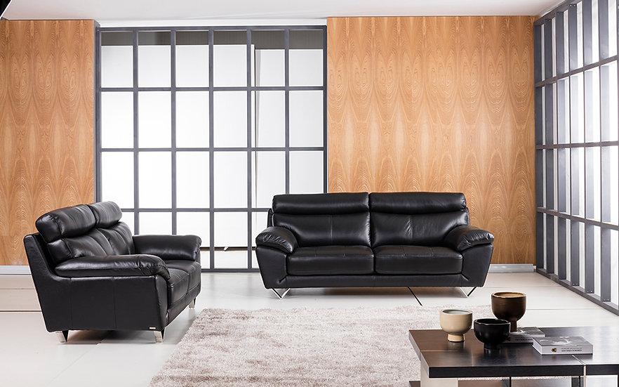 Lambeth Genuine Italian Leather Sofa Set