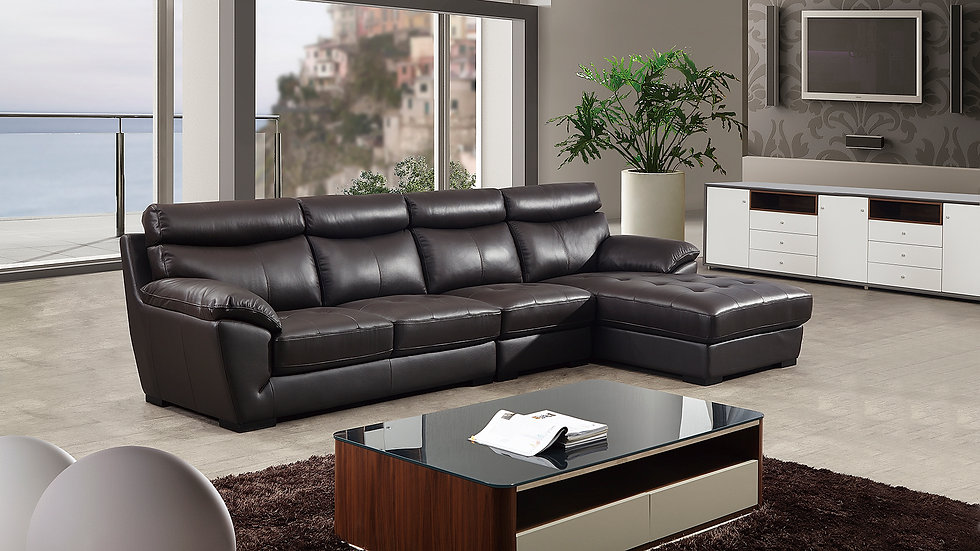 Pall Nall Leather Sectional