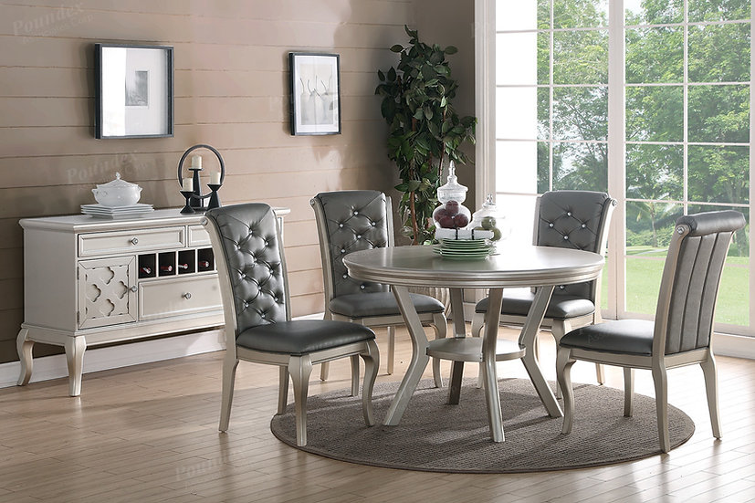 Champagne 5pc Dining Set
