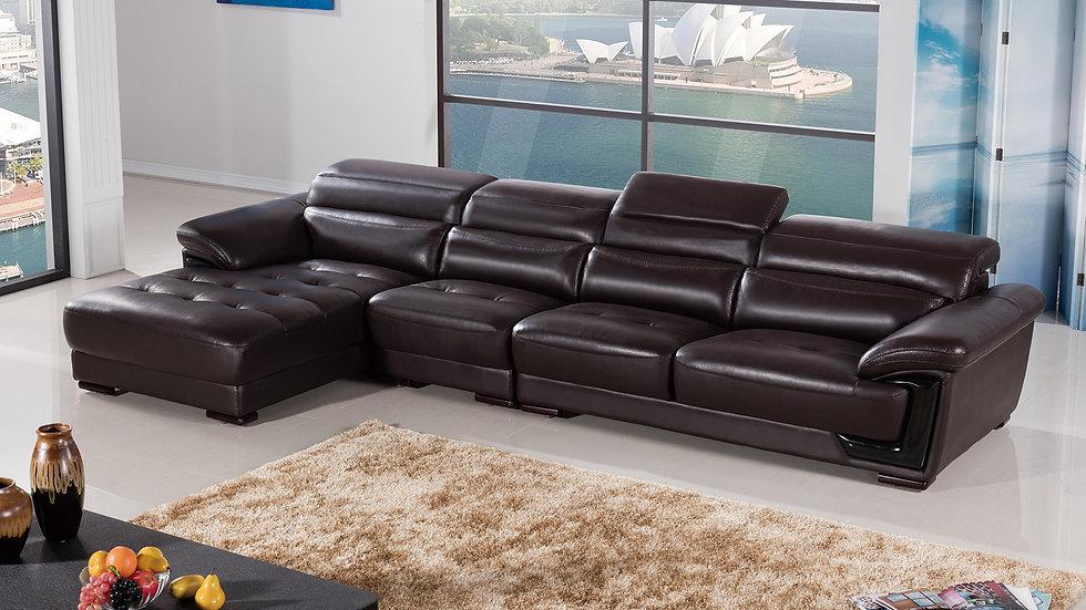 Meritt Leather Sectional