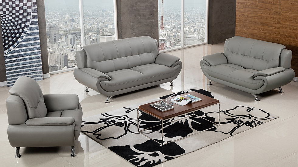 Keyse Gray Sofa Set