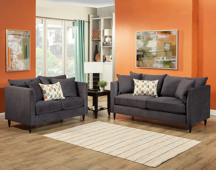 Wayne II Fabric Sofa Set