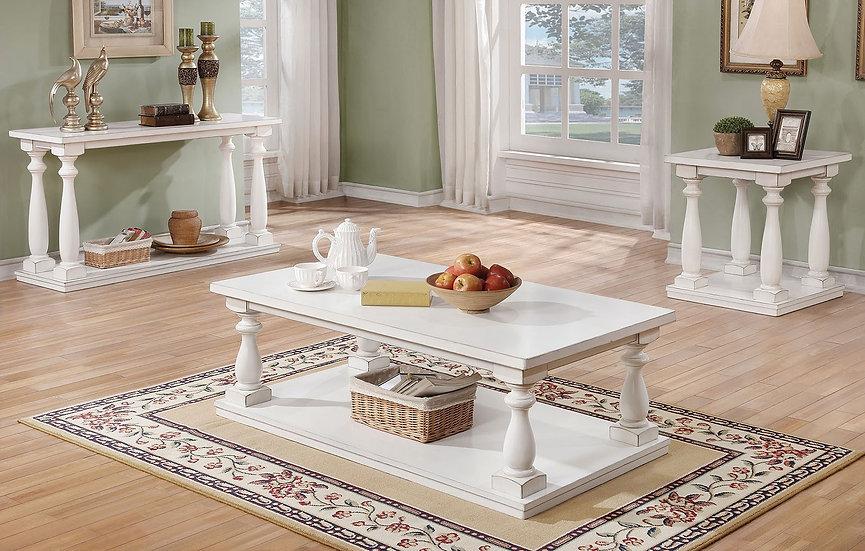 Vermont White Table Set