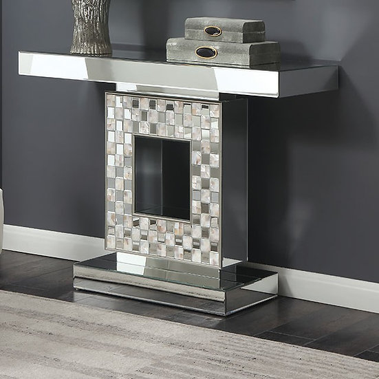 Square Console Table Glass