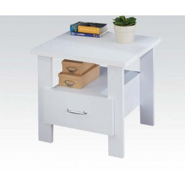 White Nightstand 2