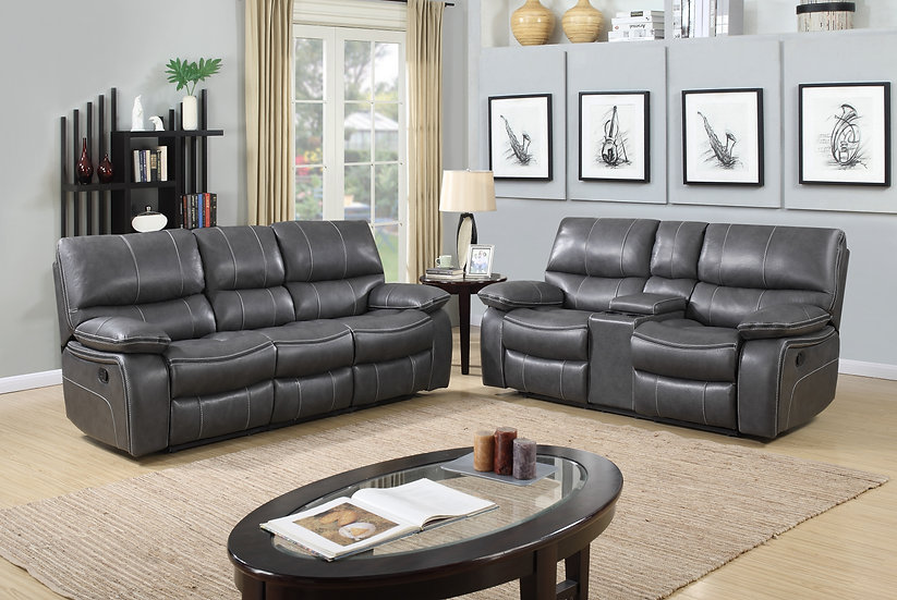 Pamella Reclining Sofa Set