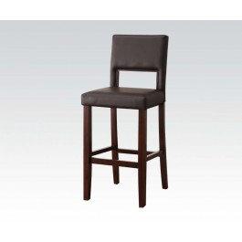 Dark Brown Bar Chair