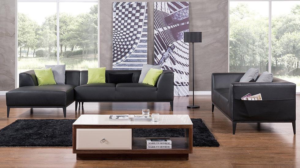 Haven Black Sofa Set
