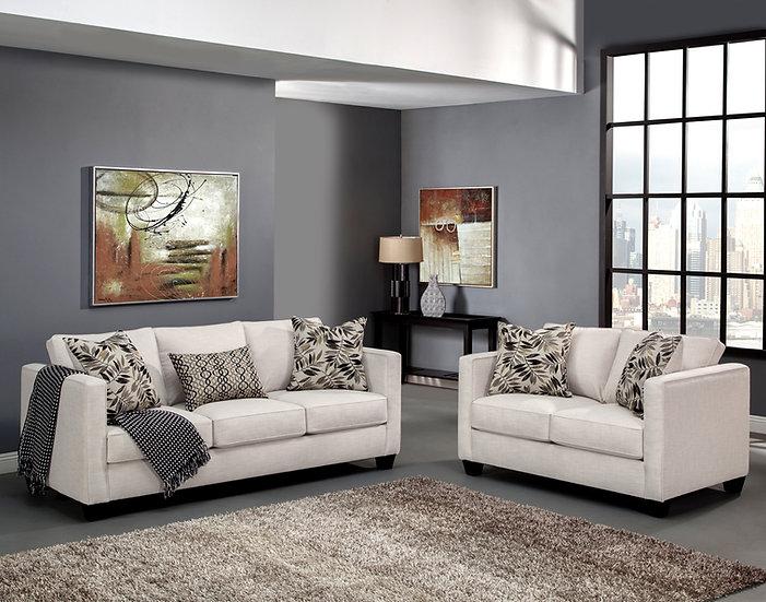 Romey Fabric Sofa Set