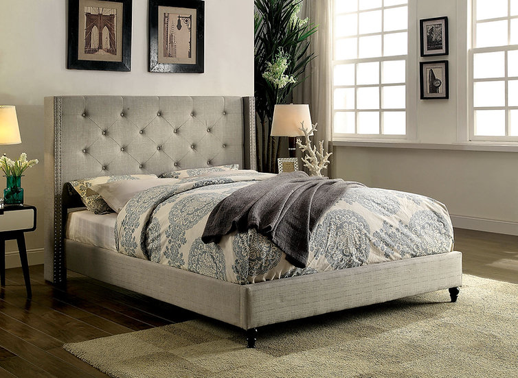 Bella Grey Bed Set