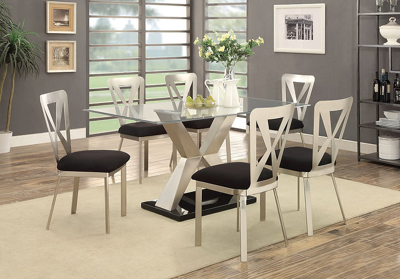 Katie Blvd 7pc Dining Set