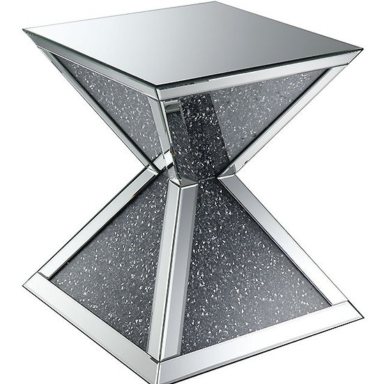 Peak End Table Glass III