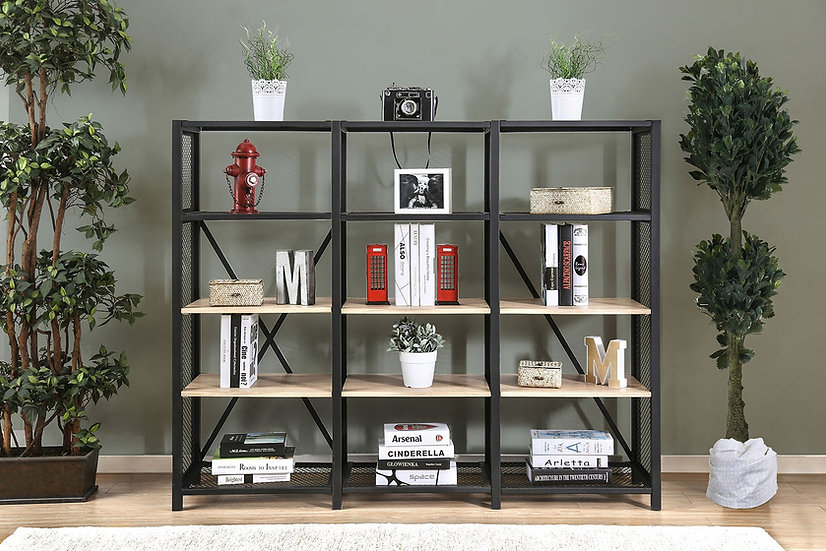 Elevated 4-Tier Shelf
