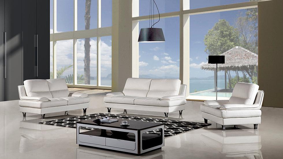 Orsman Genuine Leather Sofa Set