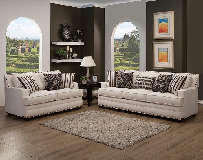 Dona I Fabric Sofa Set