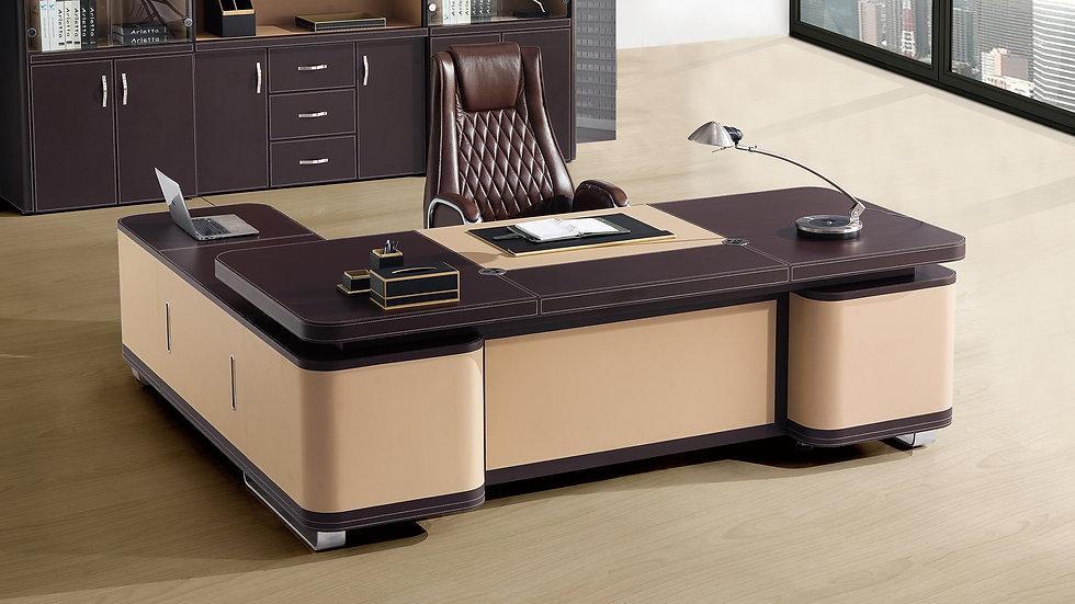 Manhattan Two Tone Executive Desk