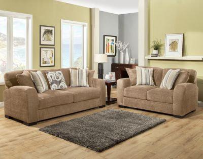 Westland II Fabric Sofa Set