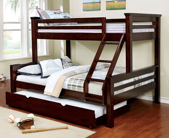 Macy III Queen / Full Bunk Bed Set
