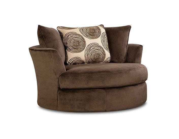 Sabian Mocha Swivel Chair