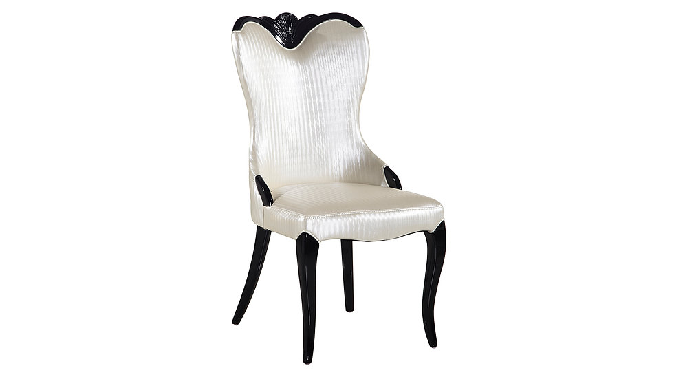 White PU Dining Chair